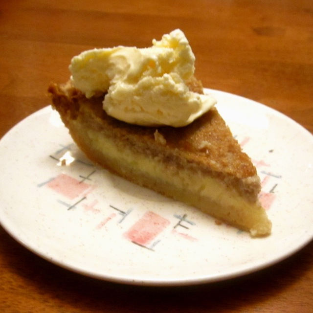 jarred's buttermilk pie