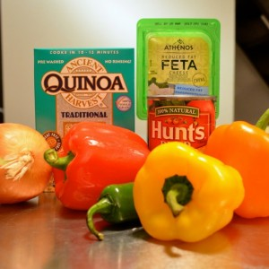 Dirty Quinoa ingredients
