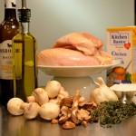 Chicken/Mushroom Ingredients