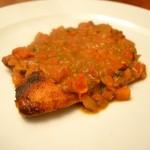 Tilapia Garlic Sauce9