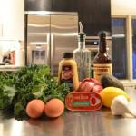 kale caesar salad ingredients