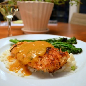 Coconut Chicken w: Mango Curry Sauce5