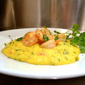 Shrimp Polenta1