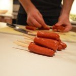 Teeny Weenie Corn Dogs skewers