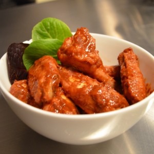 raspberry chipotle wings9