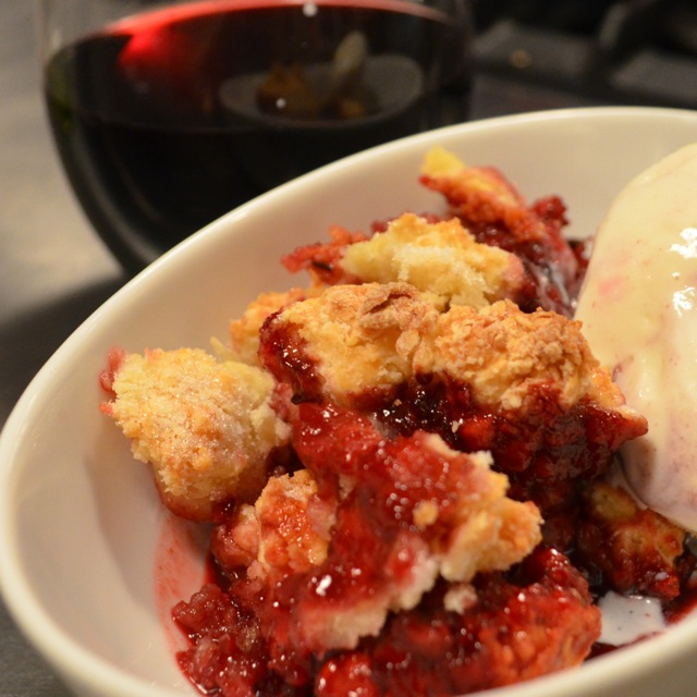 blackberry cobbler finished 2
