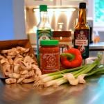 spicy thai chicken pasta ingredients
