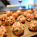 turkey herb meatballs rolled