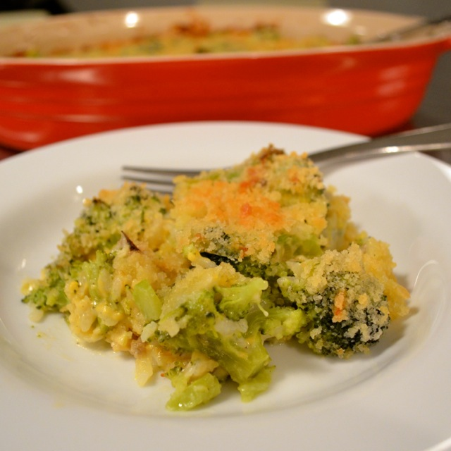 Broccoli Casserole Finished