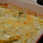 Cheesy Leeks Dish