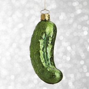 pickle-ornament