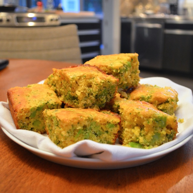 broccoli cheddar cornbread finished 2