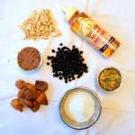 Nutty fig bars ingredients