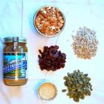 Seedy cherry quinoa bars ingredients