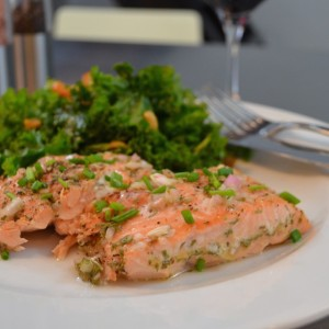Wine Poached Salmon15