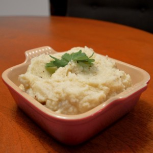 Garlic Infused Mashed Cauliflower - 12