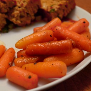 Maple Bourbon Carrots - 8
